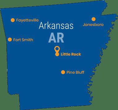 map of colleges in arkansas Best Arkansas Colleges Universities Top Online Degrees map of colleges in arkansas
