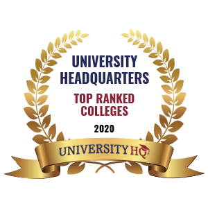 university hq best top ranked colleges badge
